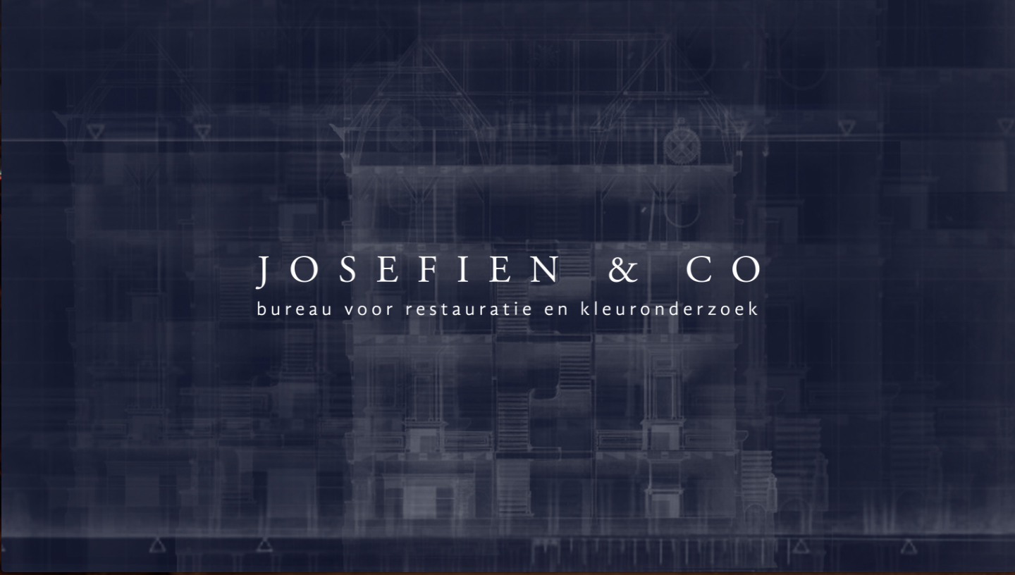 MIN-studio website portfolio: Josefien & Co website design