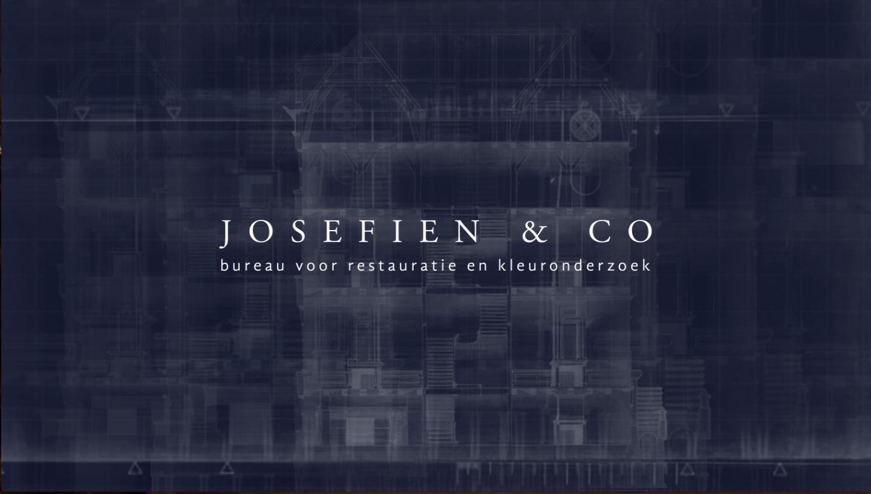 MIN-studio website portfolio: Josefien & Co website design