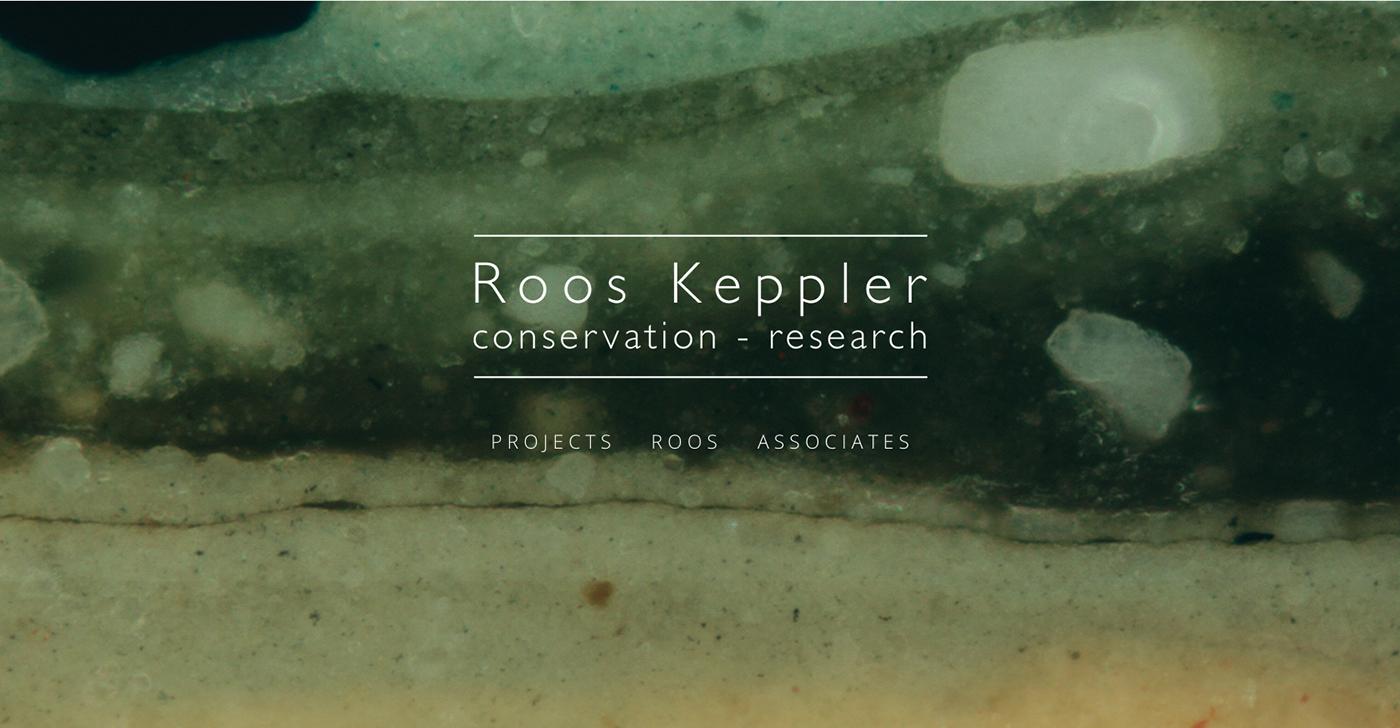 Roos Keppler website design