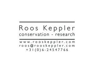 Visitekaartje Roos Keppler (achter)