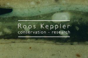 Business card Roos Keppler (front)